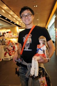 Big in Japan: Anime pop icon Danny Choo with the character, Mirai Suenaga, which started off as a site mascot for his Culture Japan website.