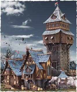 batalla a las puertas de kislev (tomado de cargad) Village