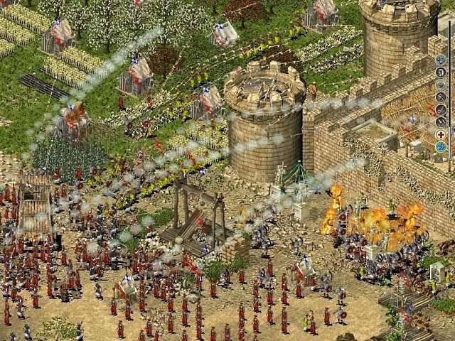 لعبة stronghold crusader extreme من ماى ايجى