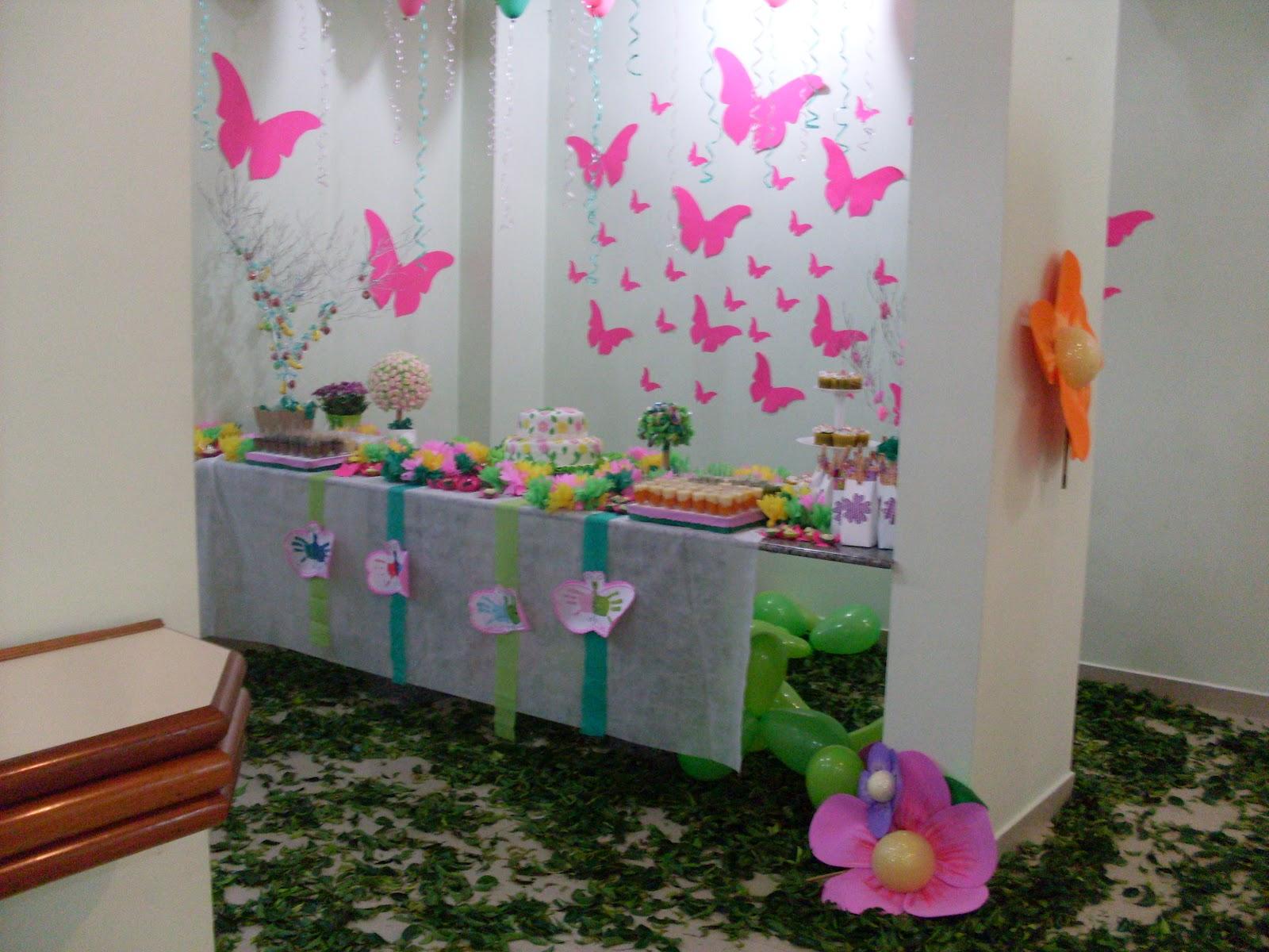 decoracao de aniversario jardim das borboletas:Tema Jardim Com Borboletas