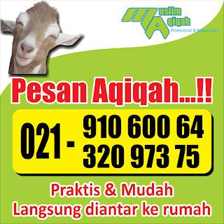 Jasa Aqiqah di Karang Tengah | 021 910 600 64
