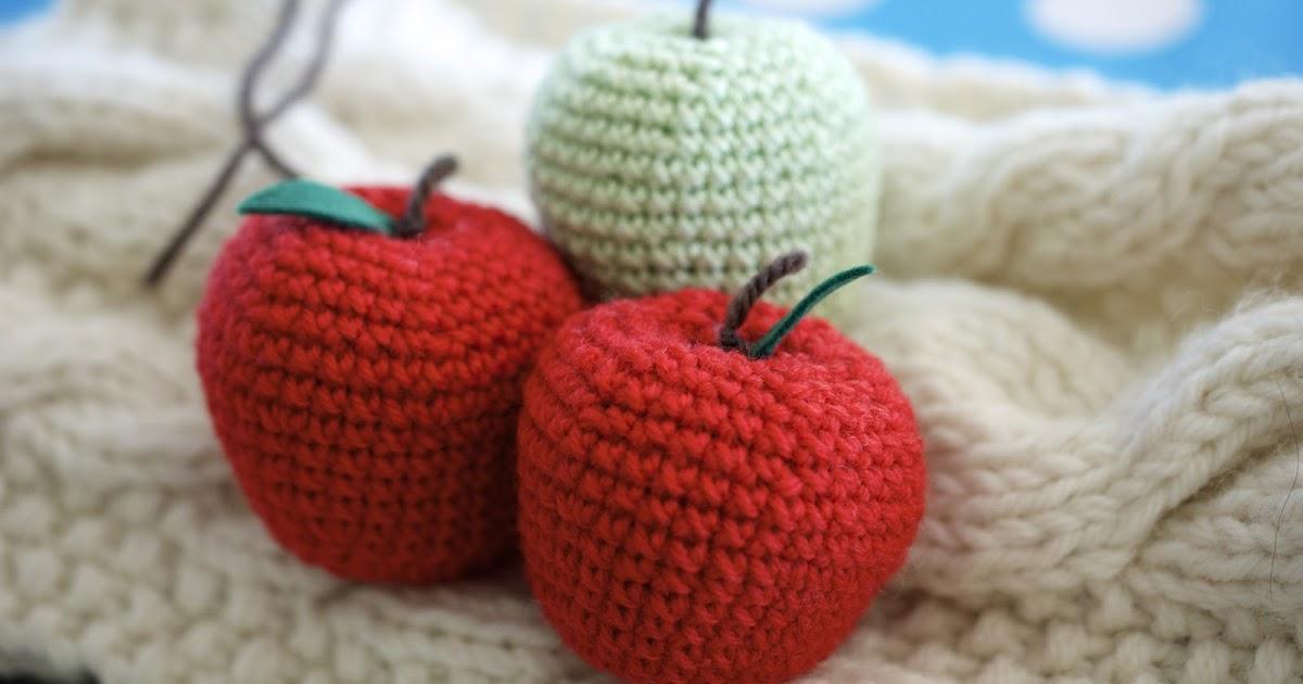 Amigurumi Yarn Ply : Greedy For Colour: How to Crochet an Apple.