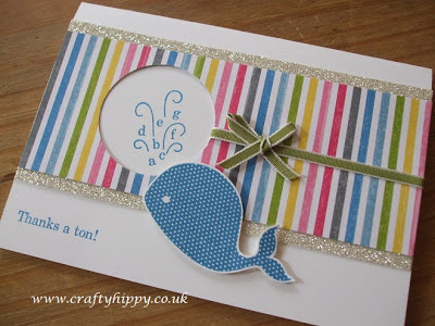 Oh, Whale! stamp set, Stampin' Up!