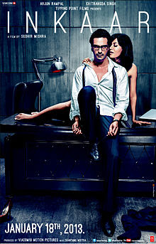 Inkaaar (2013 - movie_langauge) - Arjun Rampal, Chitrangda Singh, Vipin Sharma, Gaurav Dwivedi, Asheesh Kapur, Kaizaad Kotwal, Akanksha Nehra, Mithun Rodwittiya, Sandeep Sanchdev, Rehana Sultan