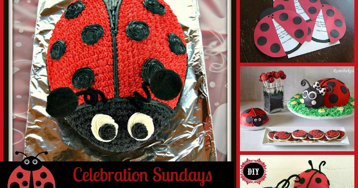 The Mandatory Mooch Celebration Sundays Ladybug Party Theme