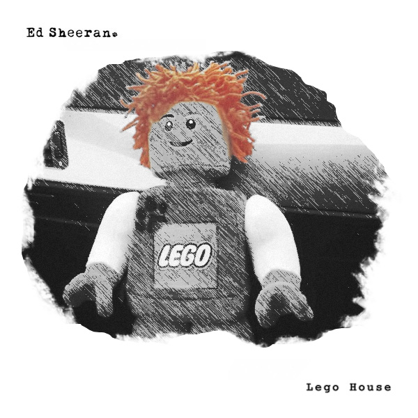 Ed Sheeran   Lego House (Coverfire Single Cover)