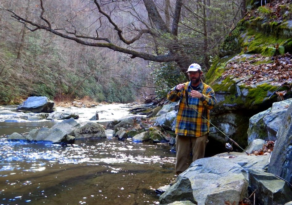 Jeff samsel fishing december 2014 for Nantahala lake fishing