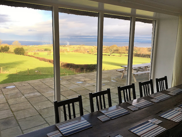 Sea View From Holly House Cottage Dining Room