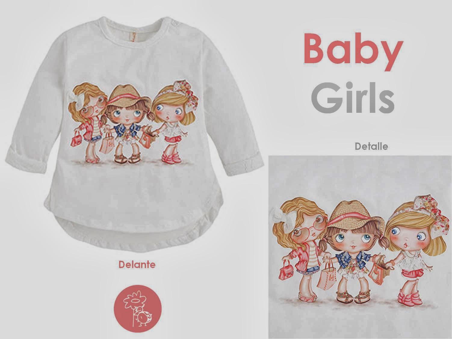 Mayoral camiseta muñetas niña en Blog Retamal moda infantil y bebe