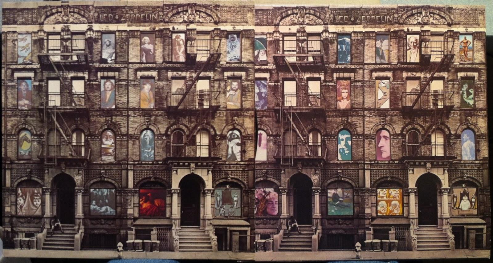 Heavy Rock Led Zeppelin Quot Physical Graffiti Quot Classic