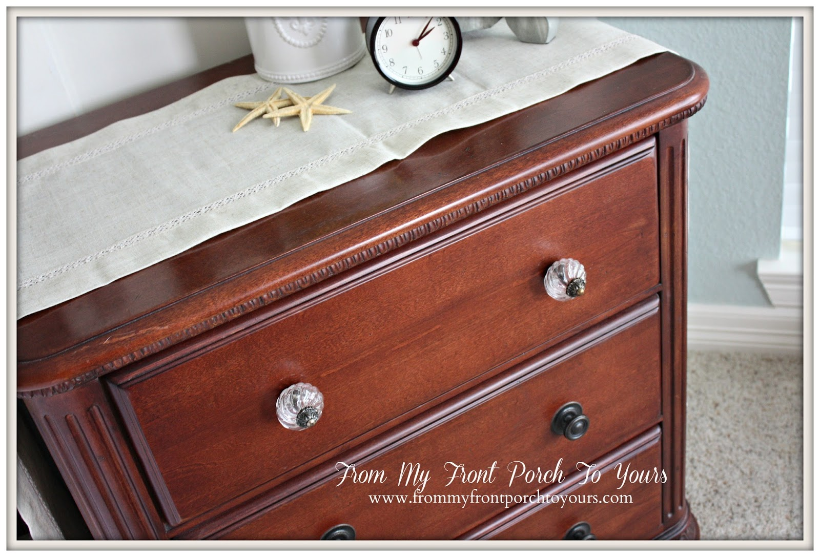 From My Front Porch To Yours- French Farmhouse Bedroom HobbyLobby knobs