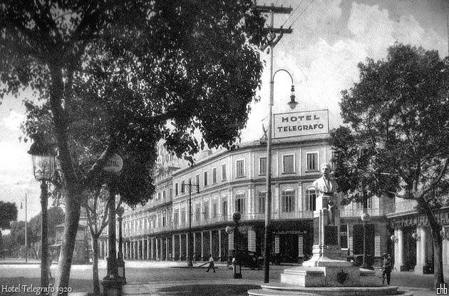 El Hotel Telegrafo de la Habana en 1920