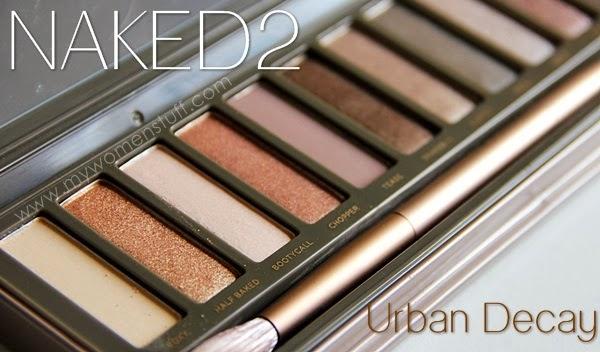 paleta očních stínů, urban decay kosmetika