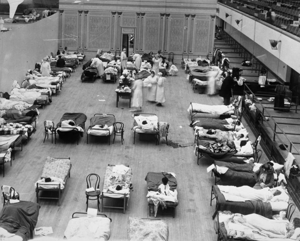Flu in Oakland 1918