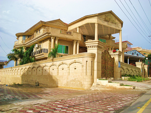 stylish modern home design exterior pakistan