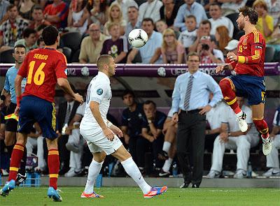 Spain-France Euro 2012