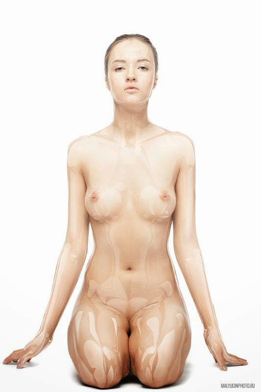A beleza plástica da modelo Angelina Rybyakova fotografada por Mikhail Malyugin corpo sensual provocante