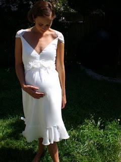 Vestidos de Novia Civil Embarazada, parte 3