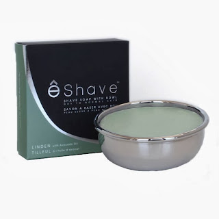 eShave's Avocado and Linden Shaving soap- another vegetable based option