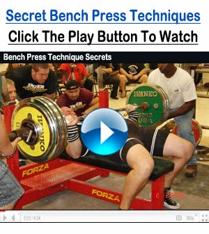 Bench Press Secrets Revealed