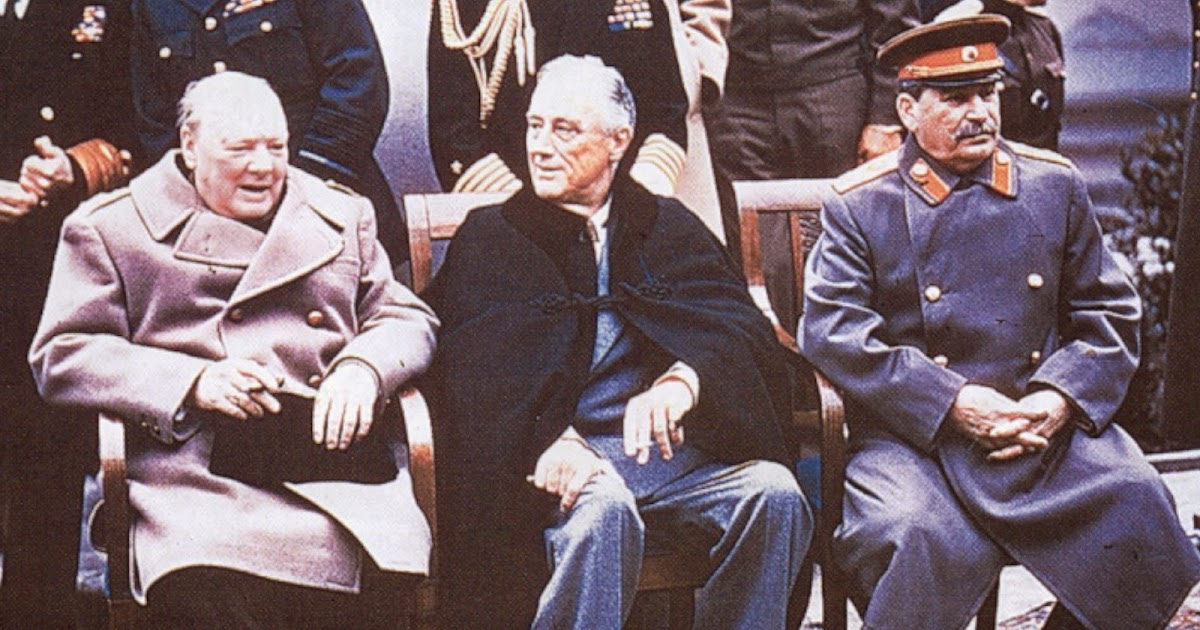 Diario Italiano Di Franco Frattini Yalta The Birth Of Its Myth