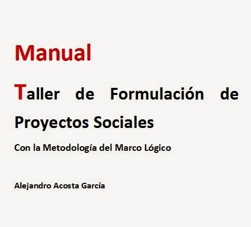 Descarga: Manual para la Formulación de Proyectos Sociales