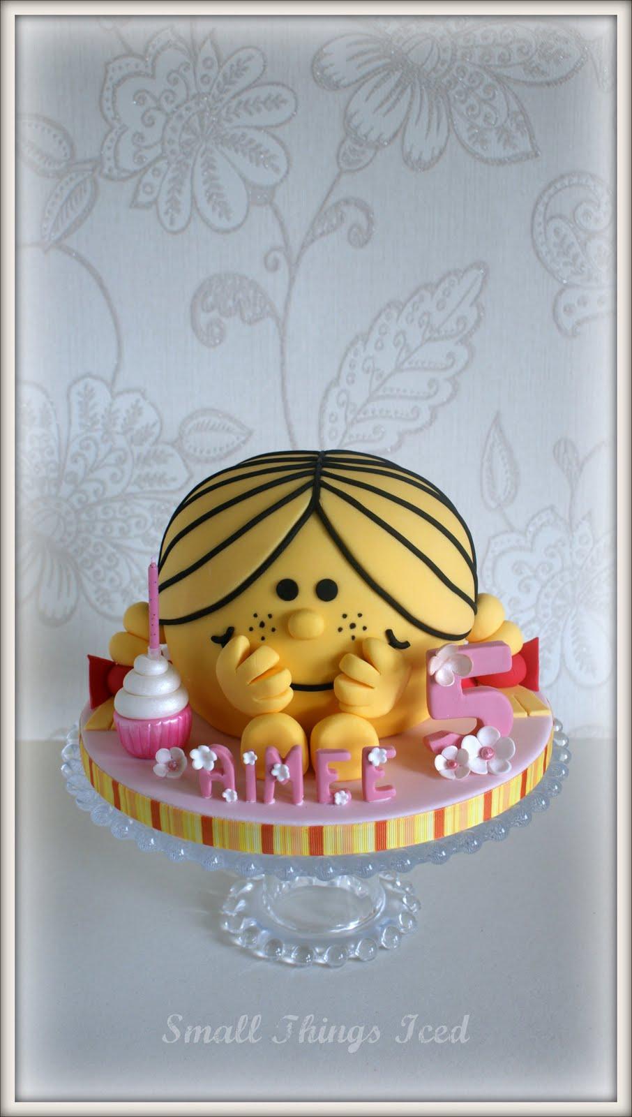Little Miss Sunshine Cake Topper