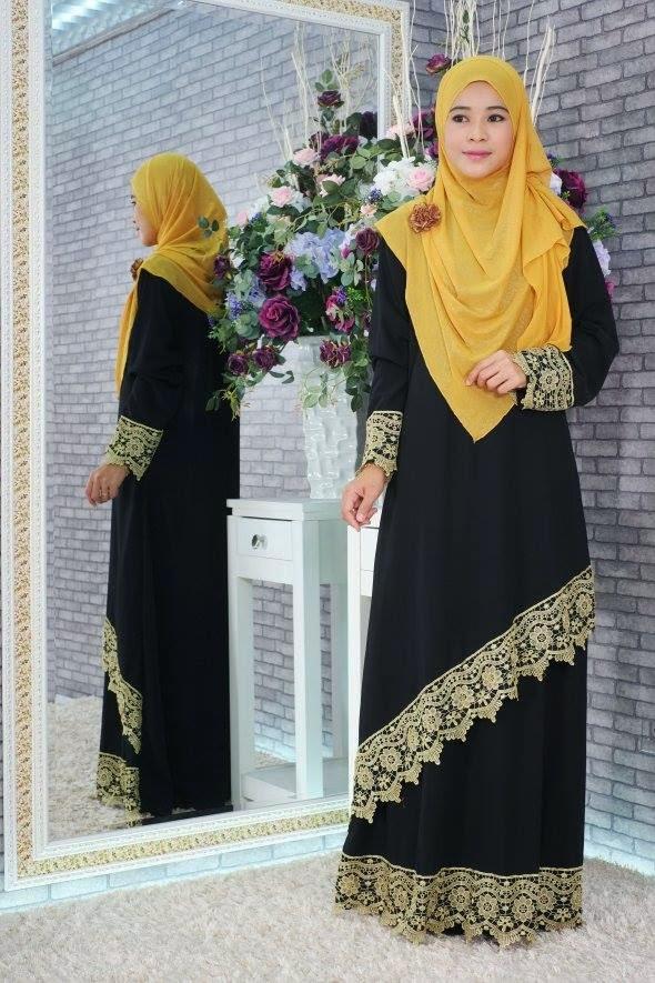 Chiffon Dress With Lace CODE 0233