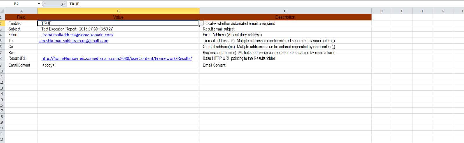 Soap ui overview first step is to have an excel sheet with following tabs input and email you can have sample fields in the email tab baditri Images