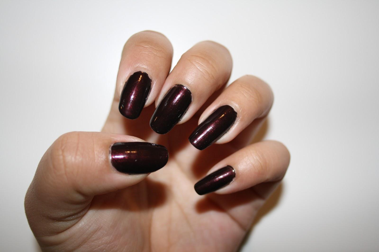 Nail it :P: OPI - Black Cherry Chutney