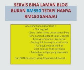 Servis Bina Laman Blog Bisnes!