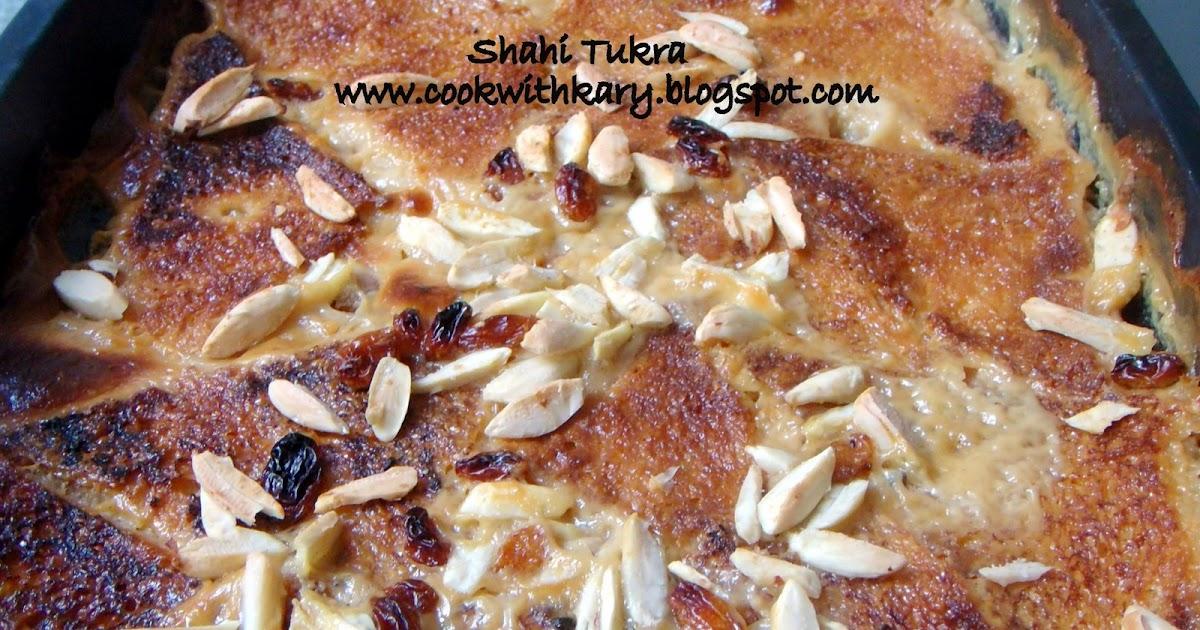 how to make shahi bread