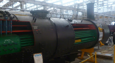 Steam Train Inside