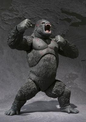 Bandai SH Monsterarts King Kong figure