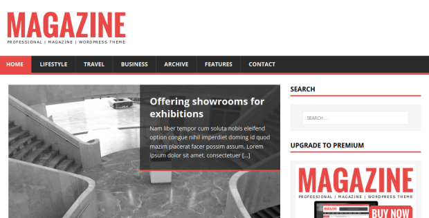 MH Magazine lite Free WordPress Theme