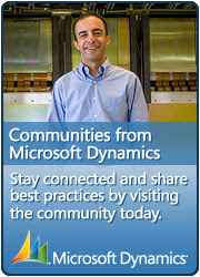 Microsoft Dynamics Community