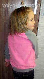 Детская толстовка из флиса