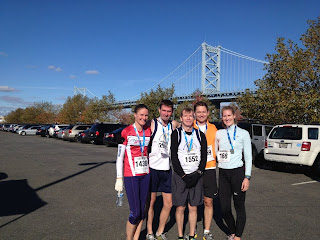 "Ben Franklin Bridge Run 10k, Nov. 4th, 2012...and ""Scene!"""