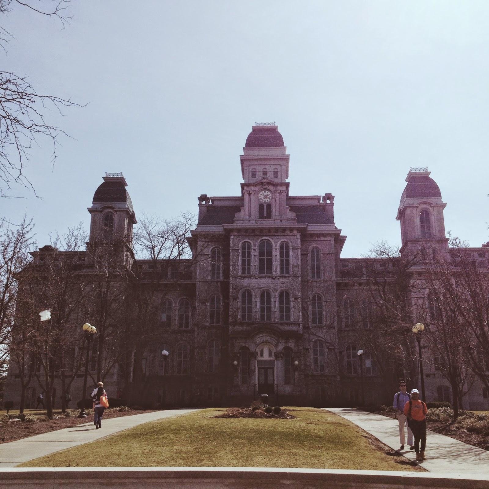 Syracuse Hall of Languages