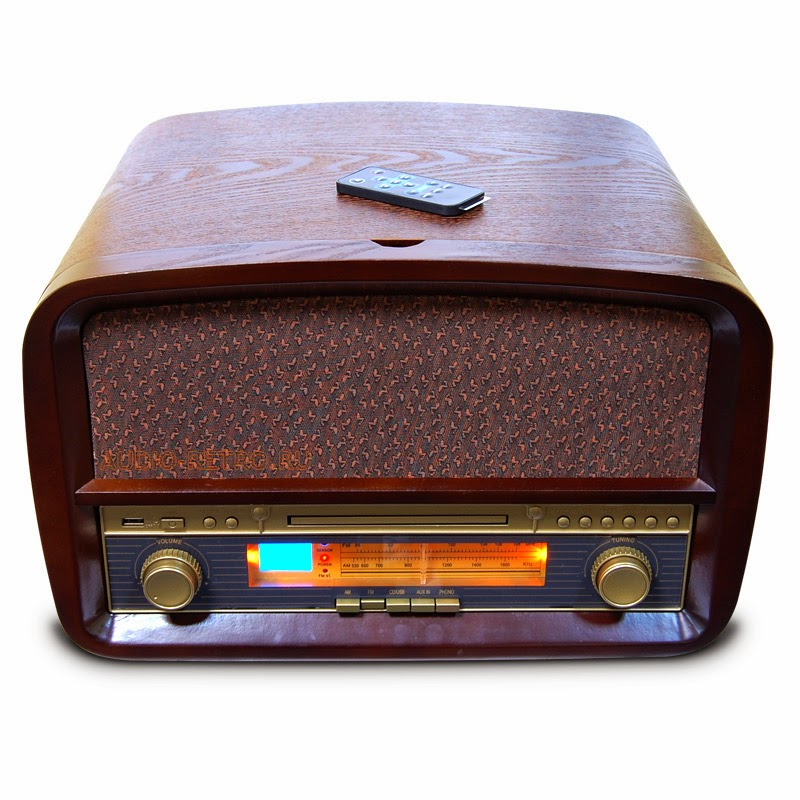 Ретро радиола Camry CR1112 (винил, радио, CD, USB, MP3, запись)