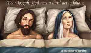 Pelkkä Pyhän hengen varjo siitti Eevan