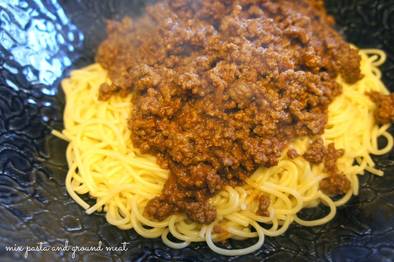 Steps to make #BarillaFiesta Mexican Cowboy Spaghetti