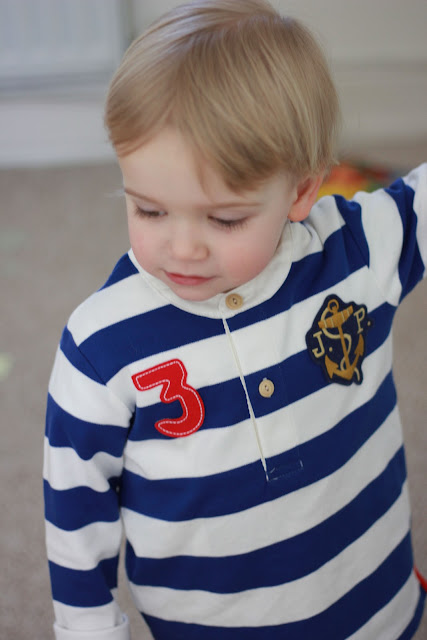 Joules rugby top