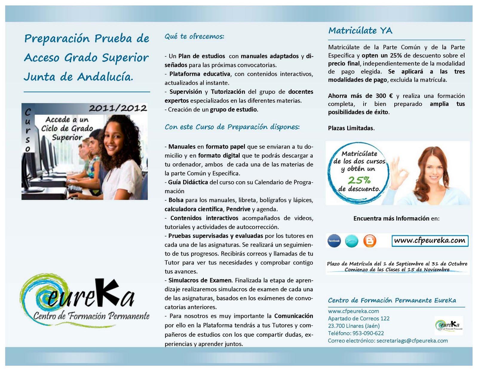 junta de andalucia curso: