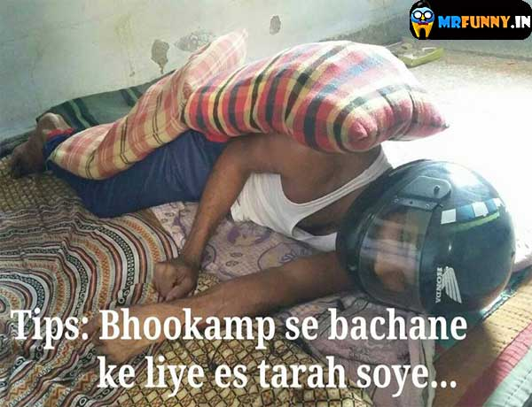 indian-earthquake-protection-jugaad-funny-photo