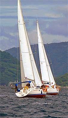 Phuket yachting off the westcoast