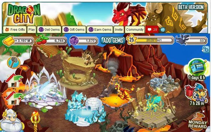 gems dragon city di facebook cara mendapatkan gems dragon city di