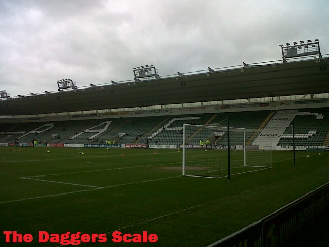 The Daggers Scale Plymouth Argyle 0 0 Daggers One Point