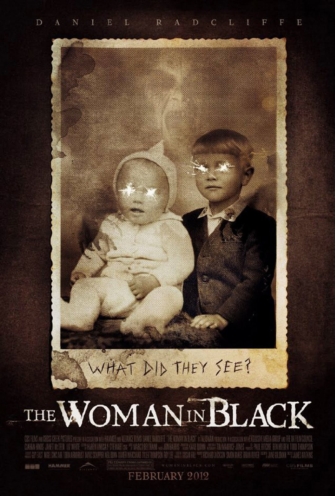 movies posters of the woman in black 2012