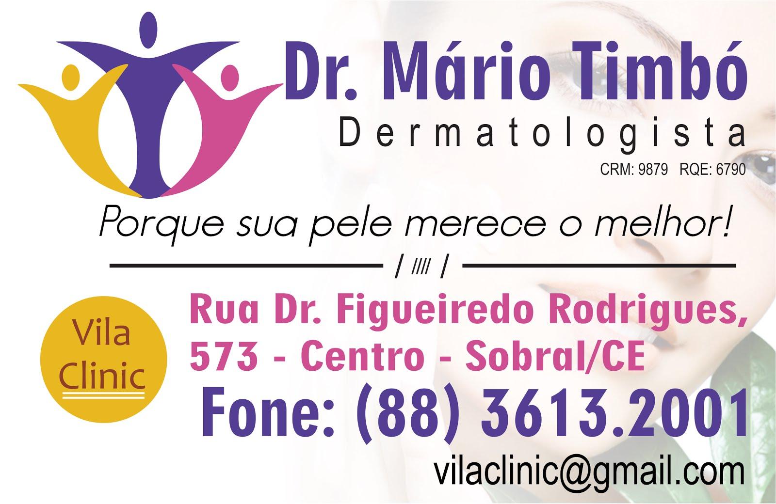 Dr. MÁRIO TIMBÓ
